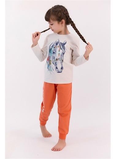 U.S. Polo Assn. Pijama Takım Krem
